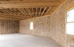 Insulation in the walls